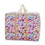 Sulida se puede lavar a máquina. colorido cubeta de Rubik profesional de impresión bolsa para almacenamiento de ropa, Multicolor, 1