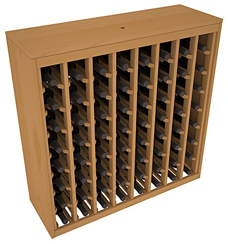 Wine Racks America Ponderosa Pine 64 Bottle Deluxe. Oak Stain Review