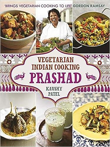 Vegetarian Indian Cooking Prashad Amazoncouk Kaushy