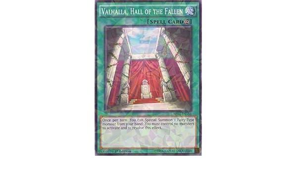 Losse kaarten BP03-EN154 Valhalla Hall of the Fallen 1st Edition Mint YuGiOh Card