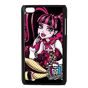 Customiz Cartoon Game Monster High Back Case for ipod Touch 4 JNIPOD4-1401