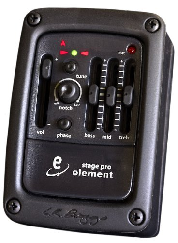 LR Baggs StagePro Onboard Guitar Pickup System w/Element Pickup ()