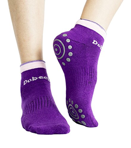 DubeeBaby Yoga Socks, Women's Non Slip Anti-Skid Pilate Grip Socks(SUN SERIES)