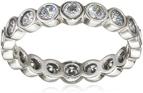 190942CZ-60 Pandora Sterling Silver Alluring Brilliant Ring, Clear CZ - Size 9