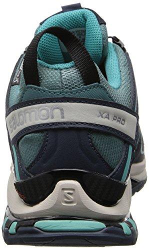 Salomon Womens Xa Pro 3d Cs Impermeabile W Trail Running Shoe Orizzonte Blu / Blu Scuro / Blu Softy