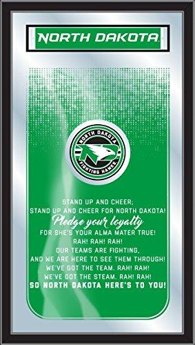 Dakota 26 Inch Bar Stool - Holland Bar Stool Co. North Dakota Fighting Hawks Fight Song Mirror (26