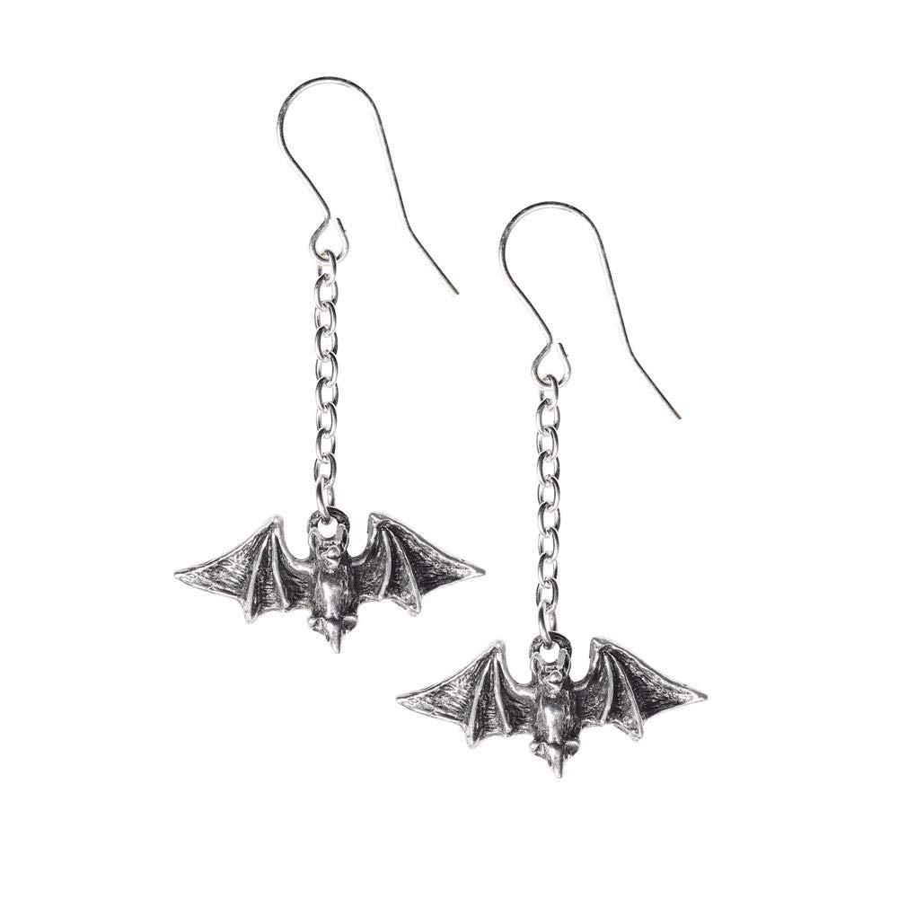 Alchemy Gothic Kiss The Night Paire de Boucles dOreilles