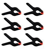 #4: Heavy Duty Muslin Clamps 4 1/2 inch 6 Pack