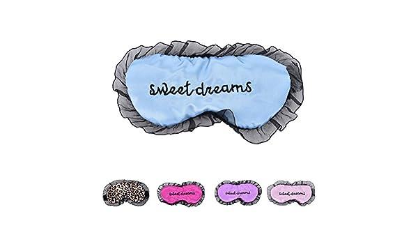 Daxey - Duplex Seda Dormir la máscara de Ojo Sombra de Ojos Máscara del sueño Negro Máscara Vendaje en los Ojos para Dormir [Azul]: Amazon.es: Deportes y ...