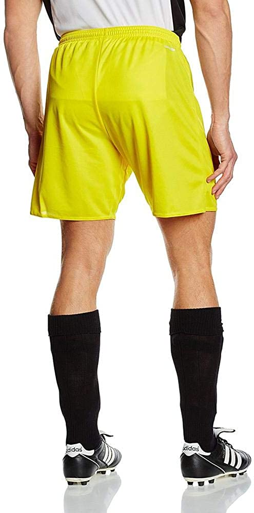 adidas Men's PARMA 16 SHO Sport Shorts Yellow (Yellow/Black)