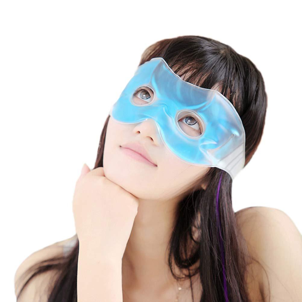 Healifty Masque Gel des Yeux Froid Masque de Refroidissement Relaxant et Apaisant