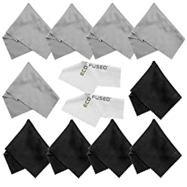 Eco-Fused Microfiber Cleaning Cloths
