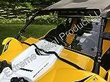P/N:13190 Yamaha YXZ Hard Coated Full Windshield -Polycarbonate