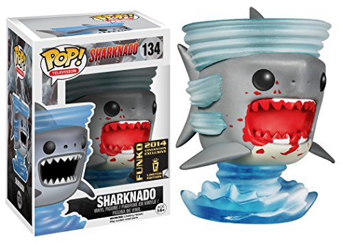 Funko - Figurine Sharknado - Bloody Shark SDCC 2014 exclu figurine Pop 10cm - 0849803044