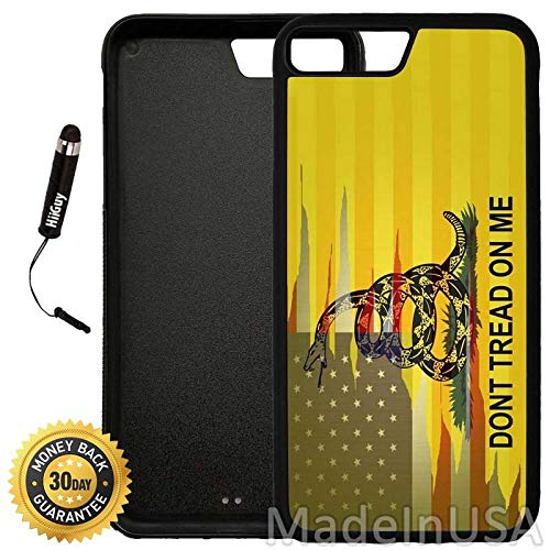 new style 6334d 30b34 Amazon.com: Custom iPhone 8 Plus Case (Dont Tread On Me Best Flag ...