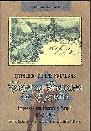 Catalogo primeras tarjetas postales espaÑa impresas hauser y: Amazon.es: Libros