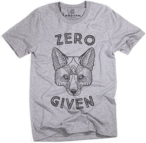 Superluxe Clothing Modern Discord&Trade; Mens Zero Fox Given Tri-Blend T-Shirt, Grey Triblend, - Guys Coachella