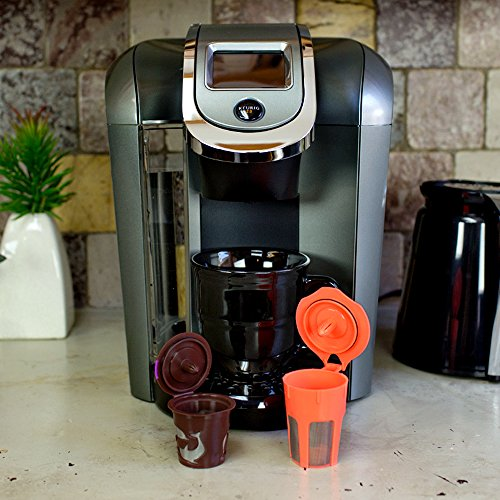 Coffee Makers Compatible With Keurig : Reusable K-Carafe and K-Cup Filter for Use in Your Keurig 2.0 Coffee Maker and More. The ...
