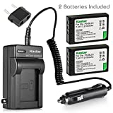 Kastar 2 Pack PS-BLS1 BLS-1 Battery and Charger for Olympus Evolt E-420 E-410 E-400 E-450 E-600 E-620 PEN E-PL1 E-P1 E-P2 E-PL3 E-PM1 E-P3 Digital Camera
