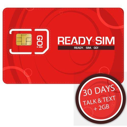 Ready SIM - Tarjeta SIM (para hablar, enviar mensajes y datos sin ...