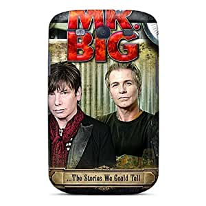 Shock Absorption Hard Phone Case For Samsung Galaxy S3 With Customized Nice Mr Big Band Skin AaronBlanchette
