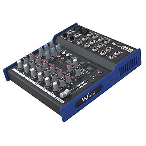 W Audio DMIX10FX Mesa De Mezclas: Amazon.es: Electrónica