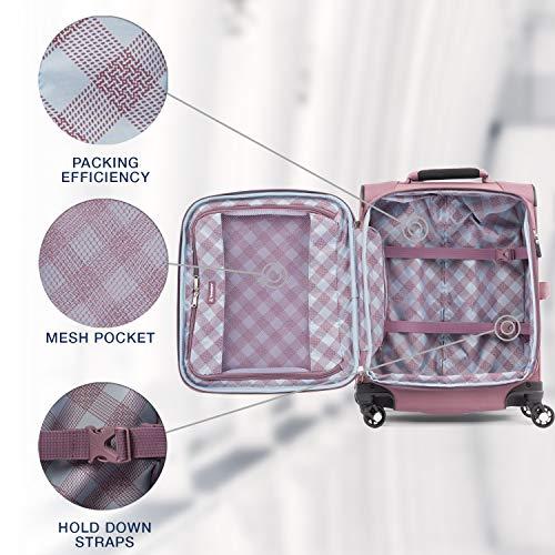 51ZyWSjvZWL - Travelpro Luggage International Carry-on, Dusty Rose