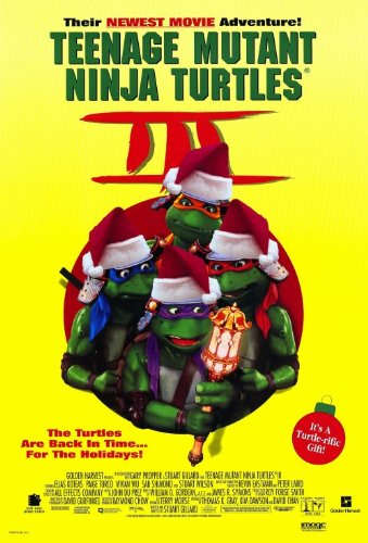 Amazon.com: Teenage Mutant Ninja Turtles 3 Poster Movie ...
