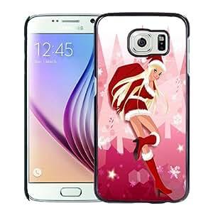Fashion DIY Custom Designed Samsung Galaxy S6 Phone Case For Cartoon Christmas Girl Phone Case Cover