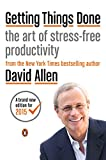 Getting Things Done, David Allen, 0143126563