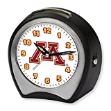 NCAA Collegiate Team Glow-in-the-Dark Table Musical Alarm Clock: University of Minnesota