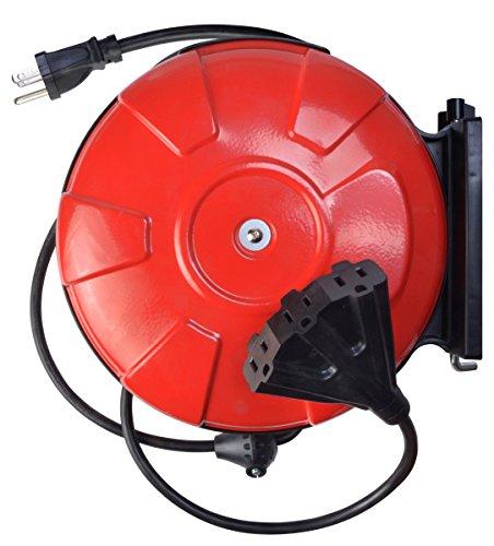3 gauge cord reel power