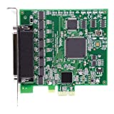 Axxon 8 Port RS232 PCI Express Controller Card, Standard Height Mounting