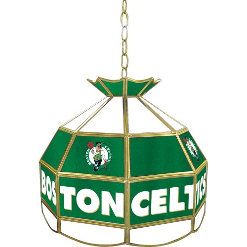 NBA Boston Celtics Tiffany Gameroom Lamp, 16'' by Trademark Gameroom