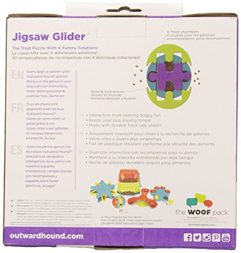 Kyjen Jigsaw Glider Dog Games Puzzle Toy 3