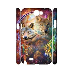 C-EUR Wolf Dream Catcher Customized Hard 3D For Case Iphone 4/4S Cover