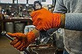UltraSource Heavy Duty Nitrile Gloves, Tiger
