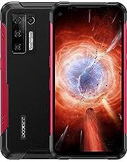 DOOGEE S97 Pro [2021] Outdoor Smartphone 8GB + 128GB met infrarood-afstandsmeter, 48MP quad-camera, 8500mAh 33W snel opladen Robuuste Waterdichte Telefoon IP68 IP69K, 4G Android 11 Smartphone Helio G95 6.39 inch, NFC, Rood