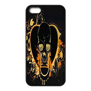 C-Y-F-CASE DIY Human Skull Pattern Phone Case For iPhone 5,5S
