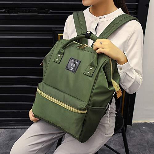 vert-S  QWKZH Sacs à Dos sac à dos femmes grand capacité   sac voyage sac à dos Designer Nursing sac for     sac à dos femmes voiturery voituree sacs mode