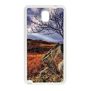 Autumn Fields Rocks White Phone Case Samsung Galaxy Note3 Kimberly Kurzendoerfer
