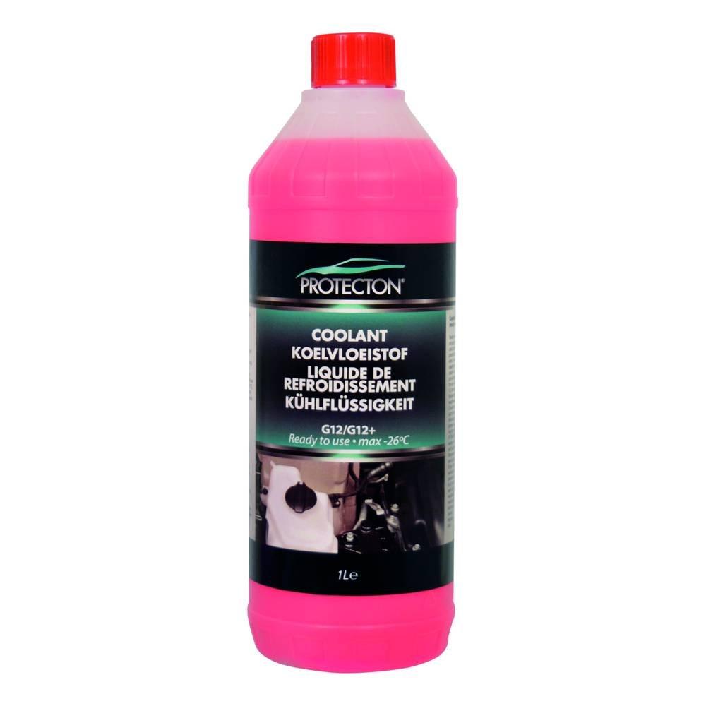 Protecton 1890909 Kü hlflü ssigkeit G12/G12+ 1-Liter gebrauchsfertig, Rosa