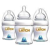 Munchkin Latch Anti-Colic Baby Bottle with Ultra Flexible Breast-like...