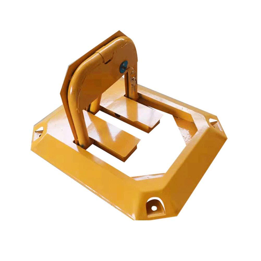 Parking Barrier, Manual Parking Blocker and Space Saver Made of Metal/Barrier for Cars/Locking Park Block, Anti-Pressure Octagonal Lock