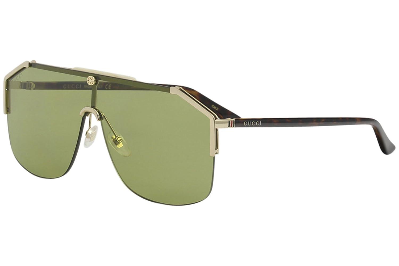 6f2f1c39a0f Amazon.com  Gucci gg0291s 100% Authentic Men s Sunglasses Gold 005  Clothing