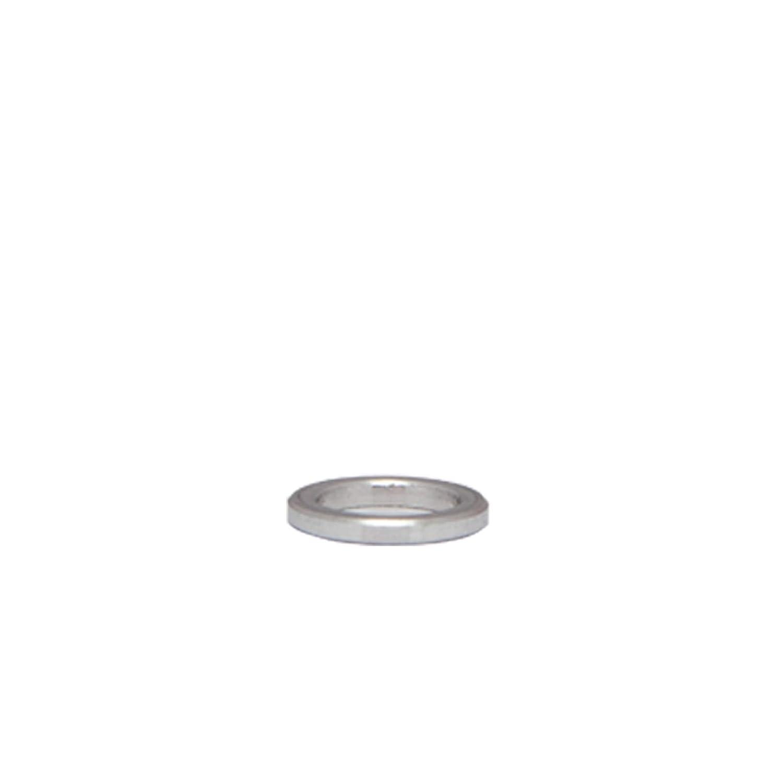 H/ülsen Abstandsh/ülsen Buchse Distanzbuchsen Abstandsbuchsen Schildhalter /Ø Au/ßen 14 mm L/änge 2 mm FASTON Aluminium Distanzh/ülsen M8 /Ø innen 8,5 mm 4 St/ück