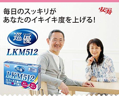 共同乳業 巡優 LKM512 1g×30包入 3箱セット(ビフィズス菌サプリメント) ポリアミンをつくるLKM512 534-512 B0754897J7