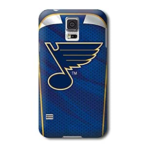 S5 Case, NHL - St. Louis Blues Home Jersey - Samsung Galaxy S5 Case - High Quality PC Case
