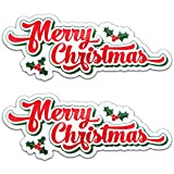 Bigtime Signs Merry Christmas Reflective Holiday