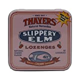 Thayers Slippery Elm Lozenges, Cherry, 42 Count by Thayers